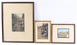 (3) WALLACE NUTTING PRINTS