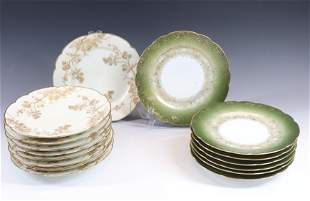 GROUP LOT OF LUNCHEON PLATES