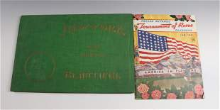 NEW YORK BEAUTIFUL BOOK AND 1941 PARADE BOOKLET