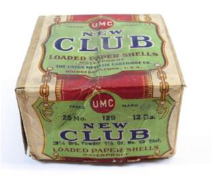 UMC NEW CLUB 12 GAUGE SHELLS BOX