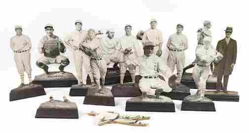 1930 ERA PHILADELPHIA ATHLETICS TEAM STAND-UPS