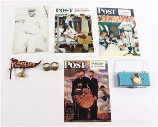 GROUP LOT OF SPORTS AND ADVERTISING SMALLS