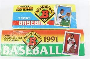 (2) BOWMAN BASEBALL CARD SETS SEALED