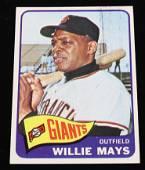TOPPS 1965 WILLIE MAYS BASEBALL CARD