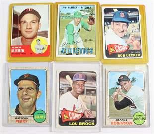 1960'S TOPPS BASEBALL CARD LOT