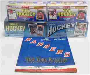 GROUP LOT OF FACTORY SEALED HOCKEY CARDS
