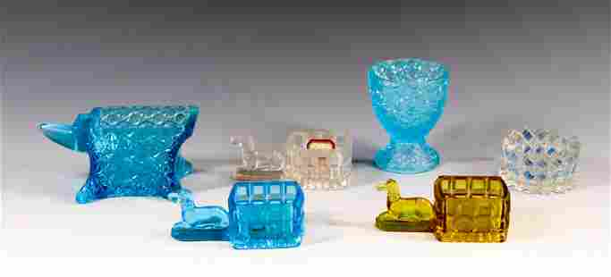 PATTERN GLASS SALT LOT