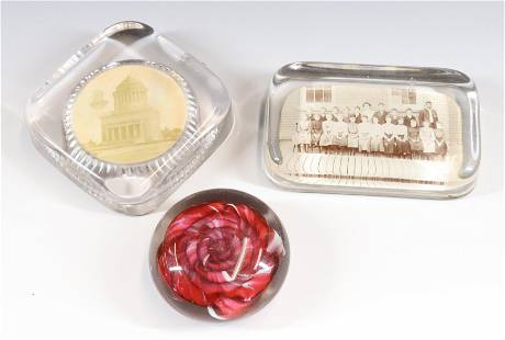 ANTIQUE PAPERWEIGHT LOT