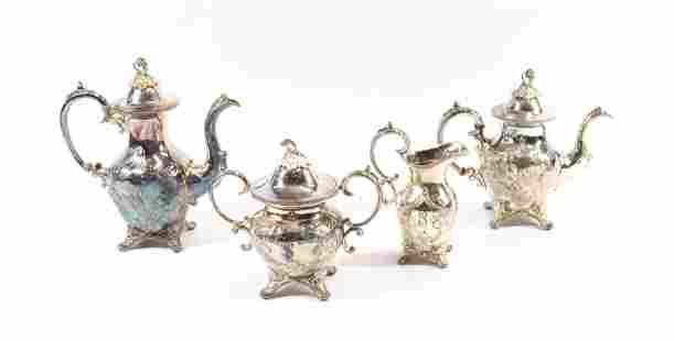 CHILDS SILVER PLATED TEA SERVICE