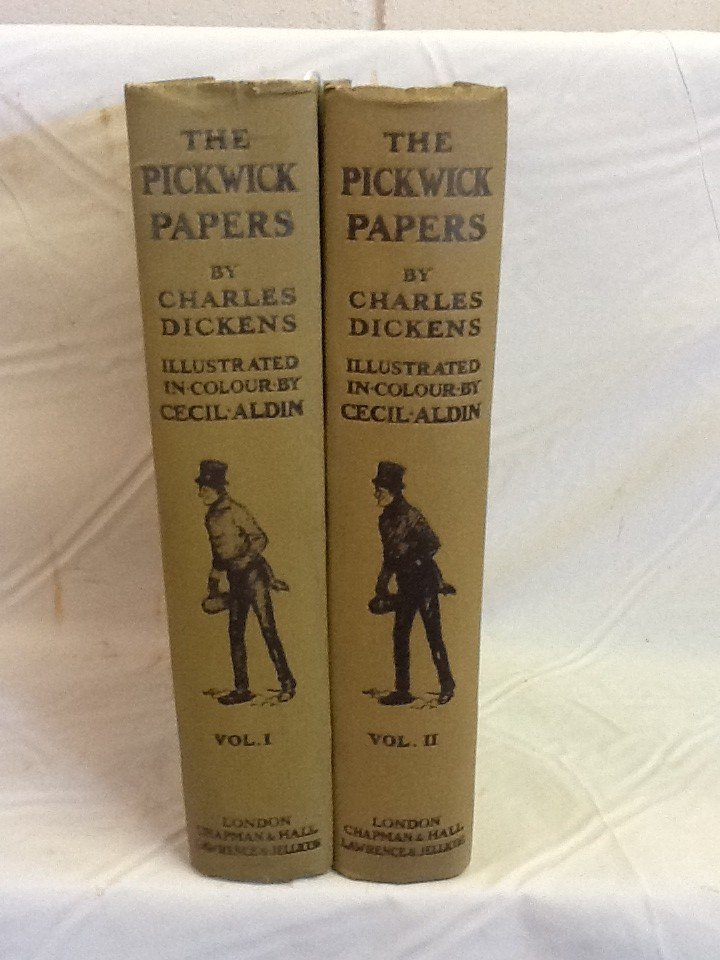 6:  THE POSTHUMOUS PAPERS OF THE PICKWICK CLUB BY: CHAR