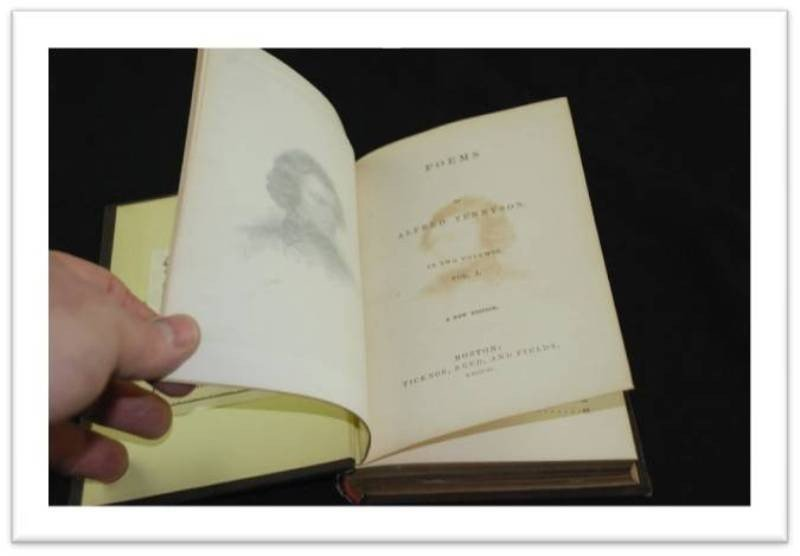 31:  (2) LOTS - POEMS, BY: ALFRED TENNYSON - IN TWO VOL - 2