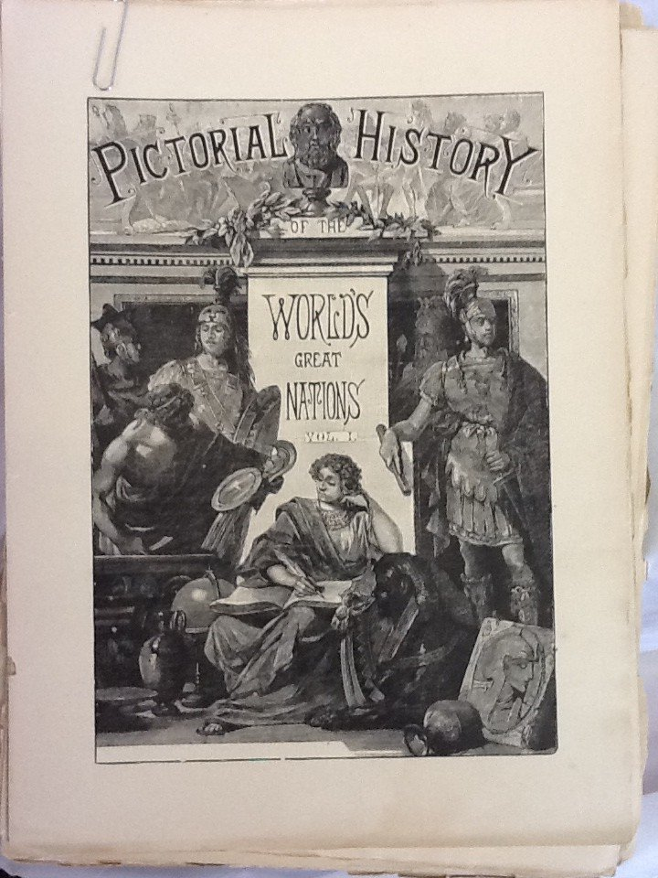 53:  A PICTORIAL HISTORY OF THE WORLDS GREAT NATIONS, F