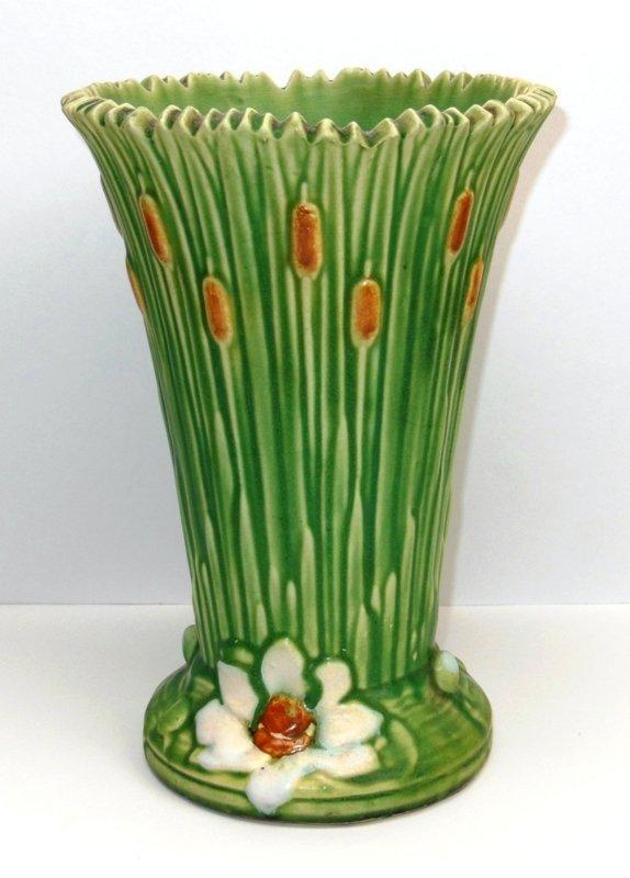 """3: Weller Vase """"Ardsley"""" Pattern"""