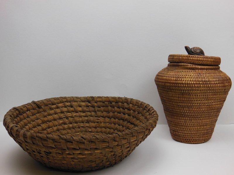 12: (2) Baskets