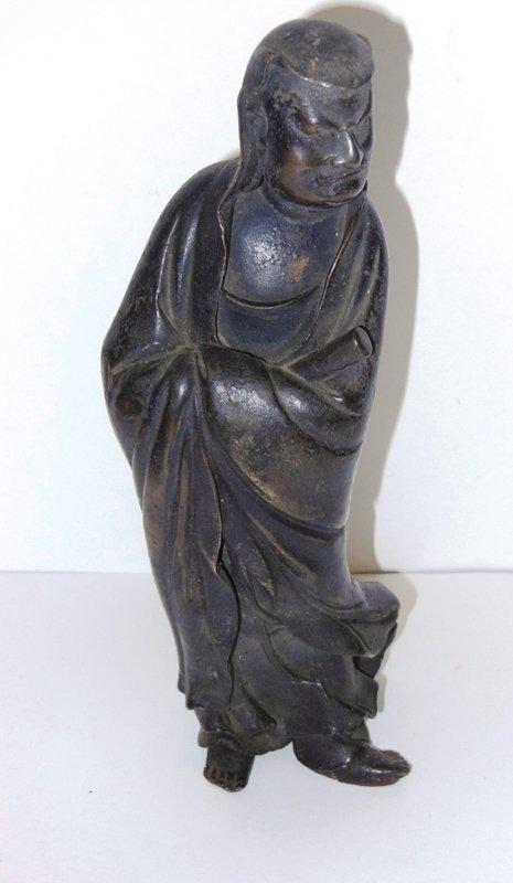 324: Bronze Chinese Elder