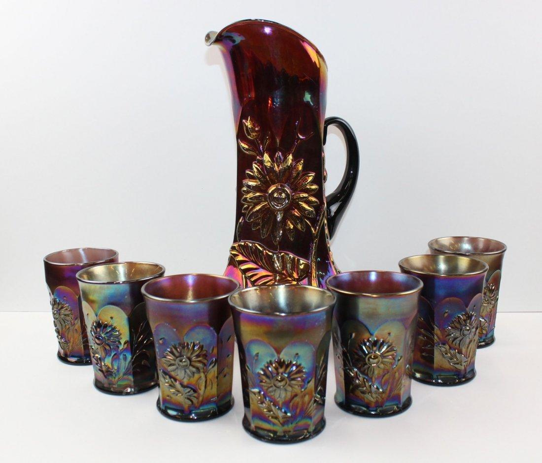 Dandelion Carnival Glass