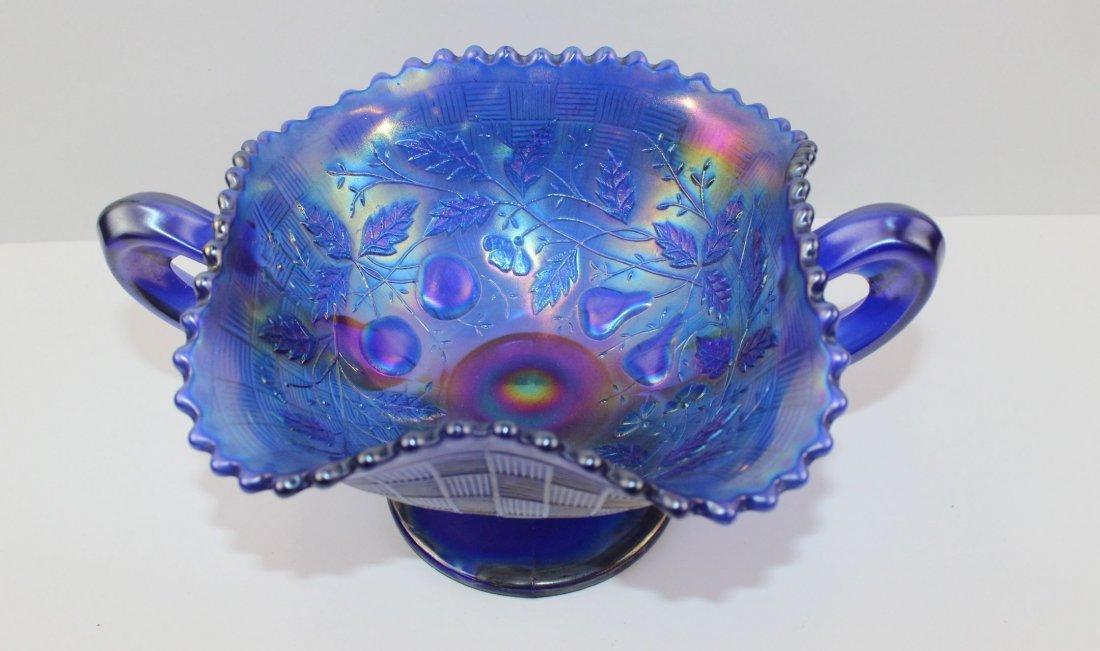 Three Fruit Carnival Glass