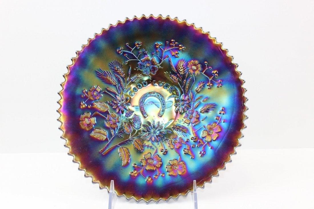 Good Luck Carnival Glass
