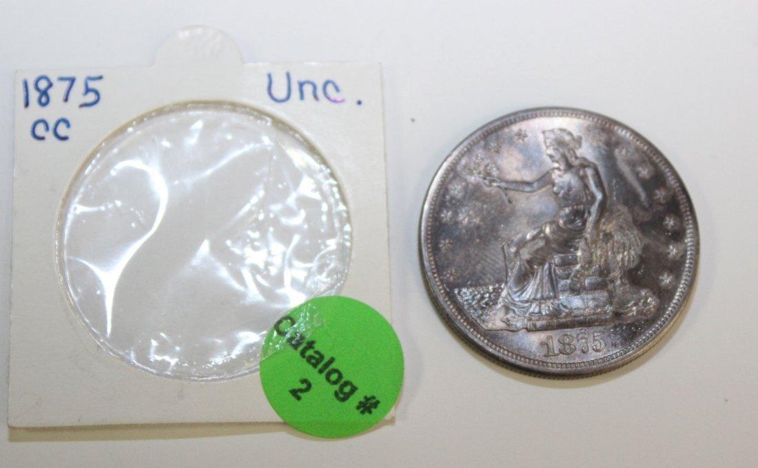 1875 CARSON CITY TRADE DOLLAR