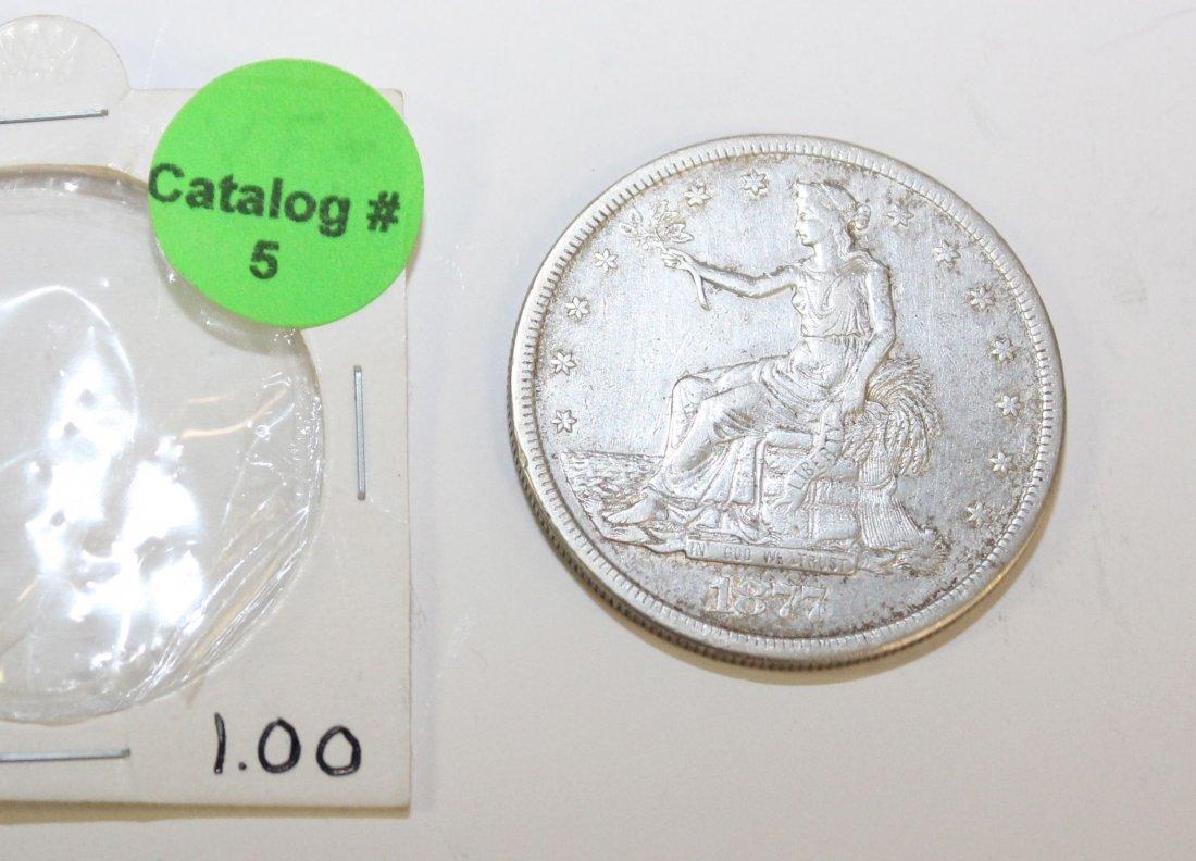 1877 S TRADE DOLLAR