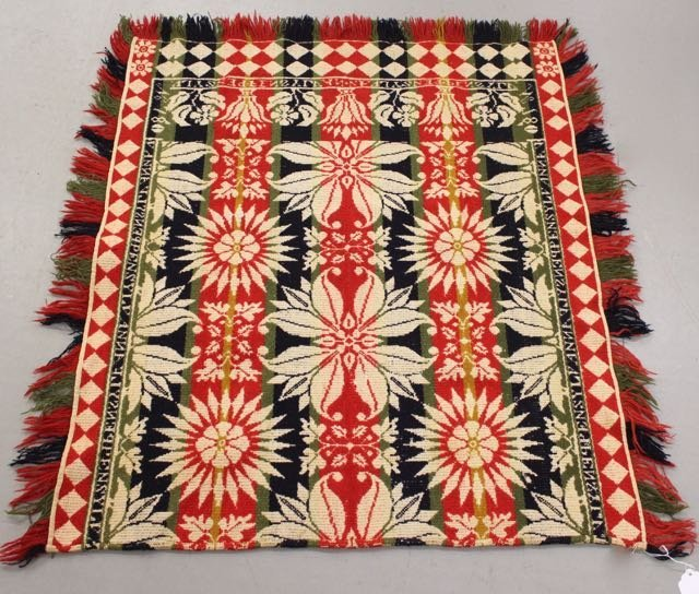19TH CENTURY PA COVERLET