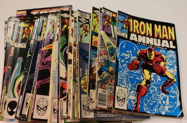 GROUP OF MARVEL COMIC BOOKS
