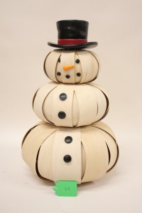 Longaberger Snowman