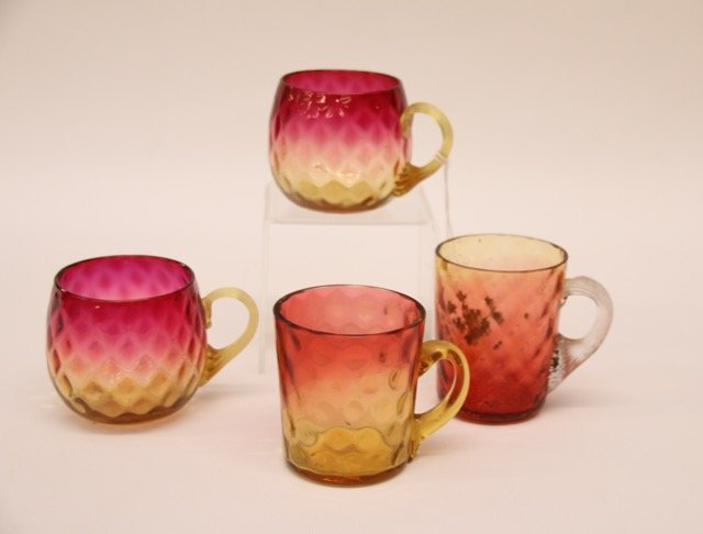 GROUP OF EARLY GLASS