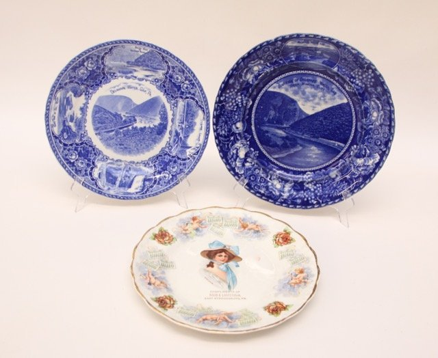 GROUP OF SOUVENIR PLATES