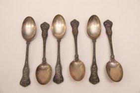 6 - Sterling Spoons