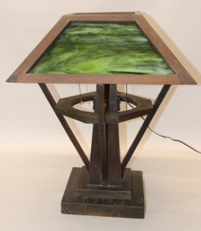 Arts And Crafts Table Light