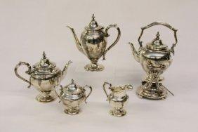 Birks Sterling Tea Set