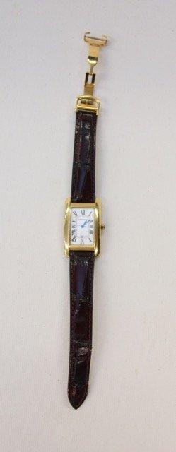 Cartier Tank Wrist Watch