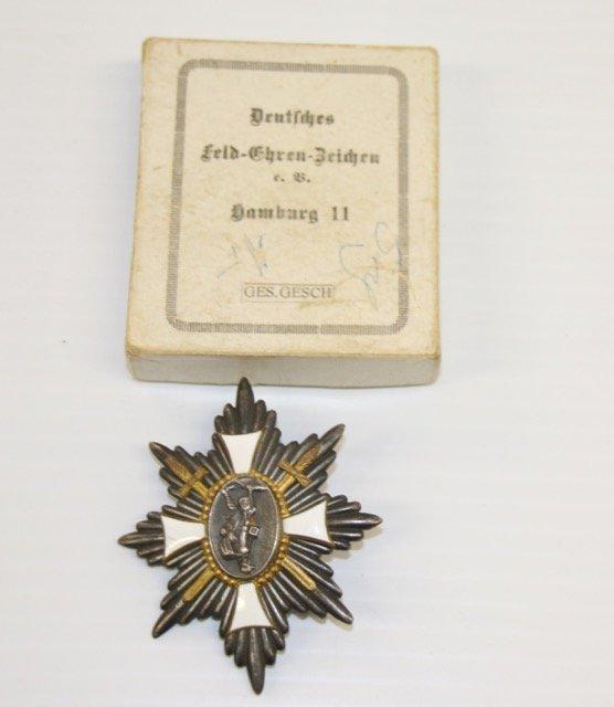 WORLD WAR I GERMAN FIELD HONOR BADGE