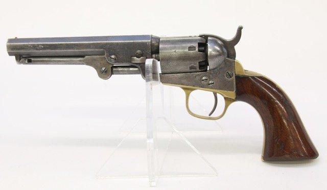 CIVIL WAR COLT MODEL 1849 POCKET REVOLVER