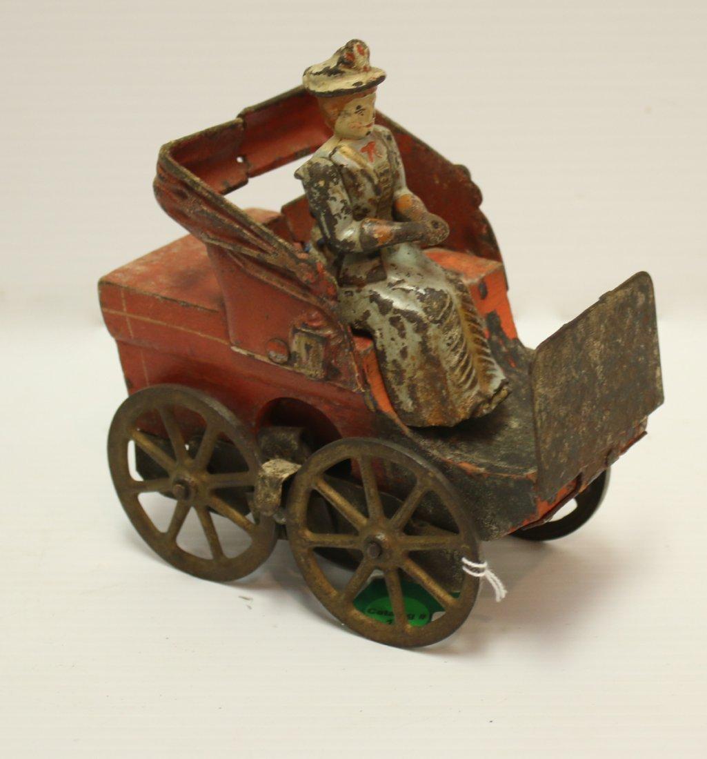 WOOD AND TIN CAR