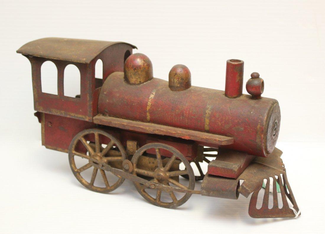 TIN AND WOOD TRAIN