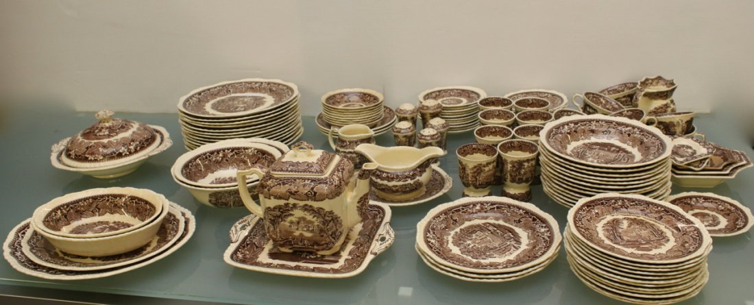 MASON'S CHINA DINNERWARE IRONSTONE