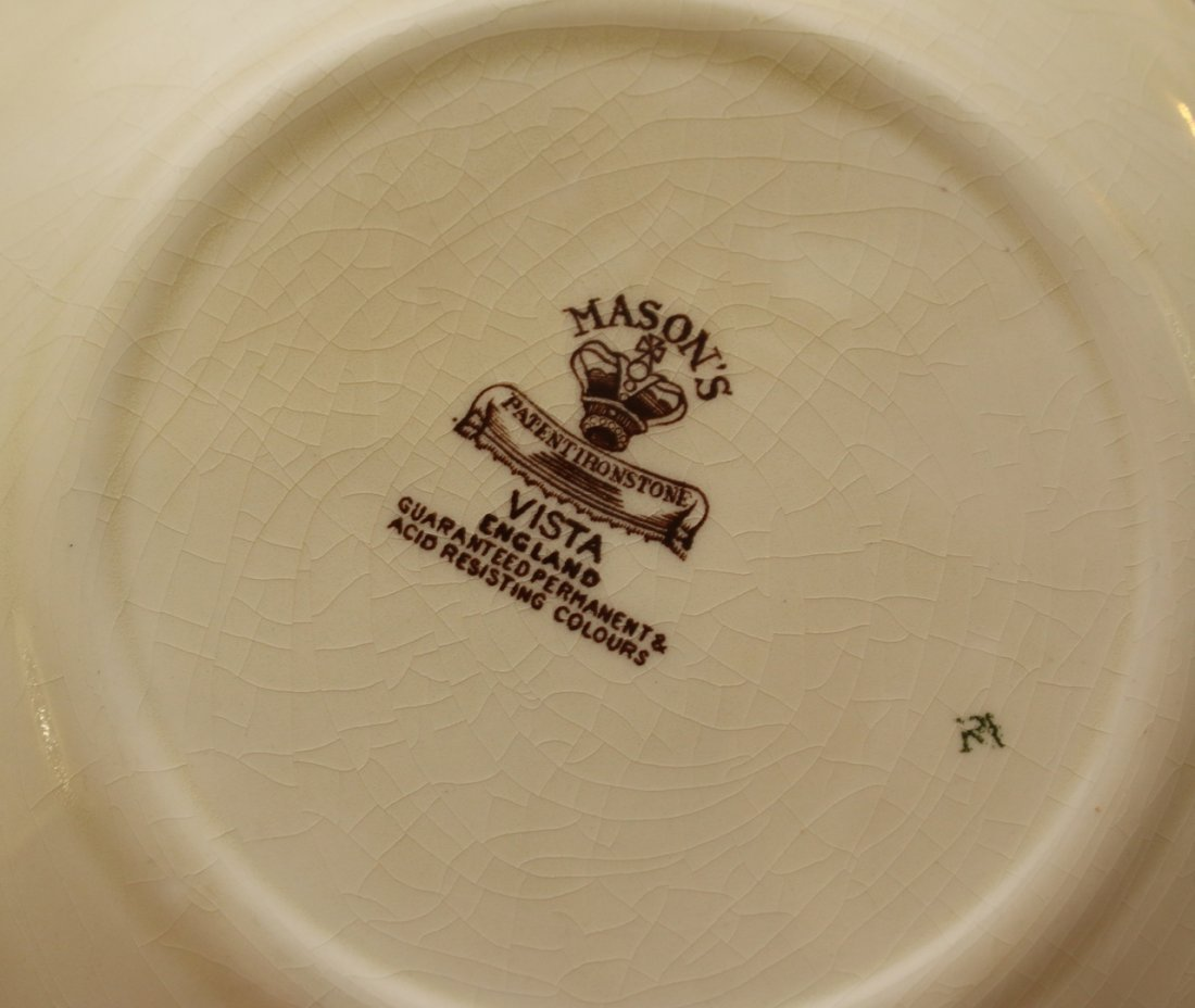 MASON'S CHINA DINNERWARE IRONSTONE - 2