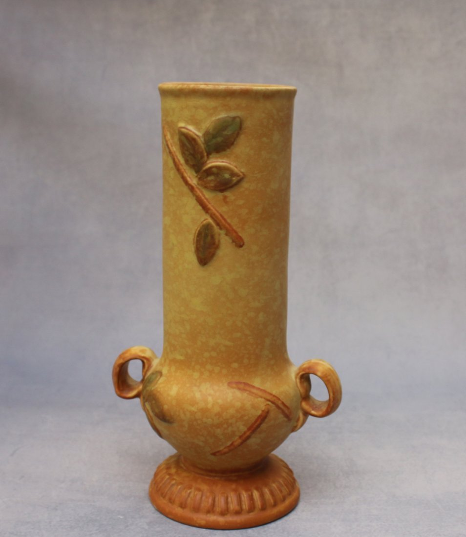 "WELLER ""GOLDEN GLOW"" VASE - 2"