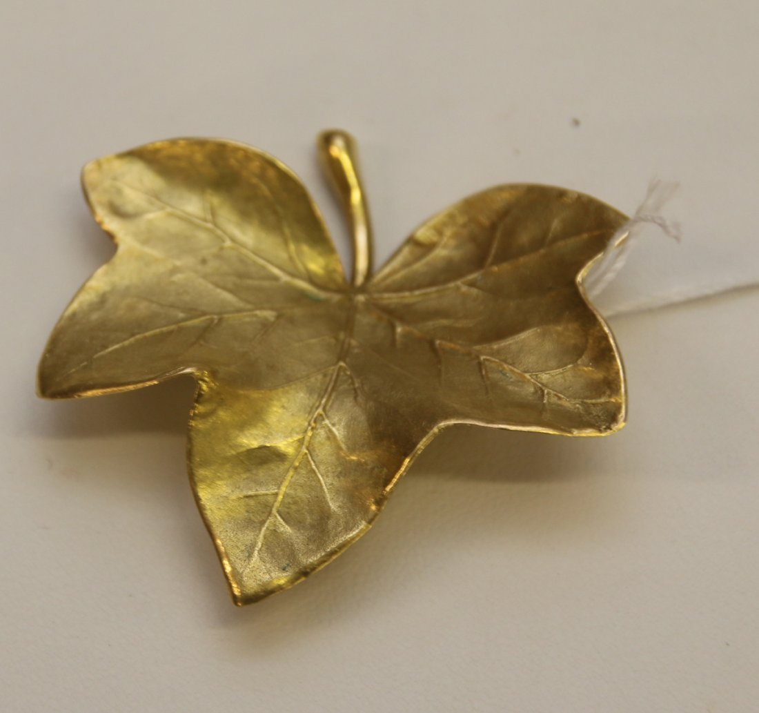 18K YELLOW GOLD PIN