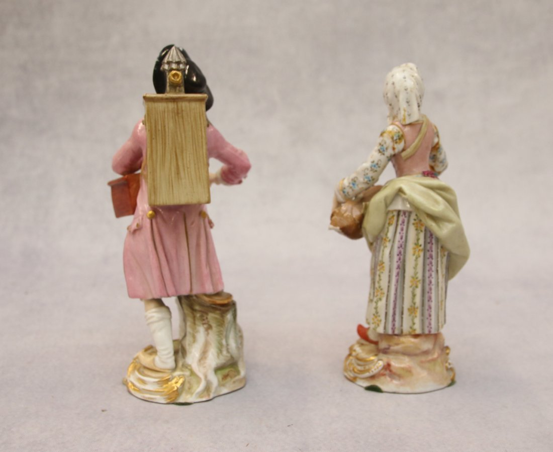 MEISSEN PAIR OF MUSICIANS - 2