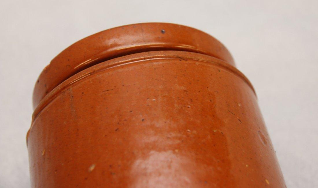 REDWARE STORAGE JAR WITH LID - 5