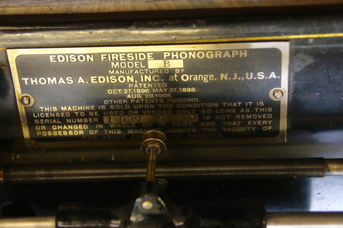 EDISON FIRESIDE PHONOGRAPH - 4