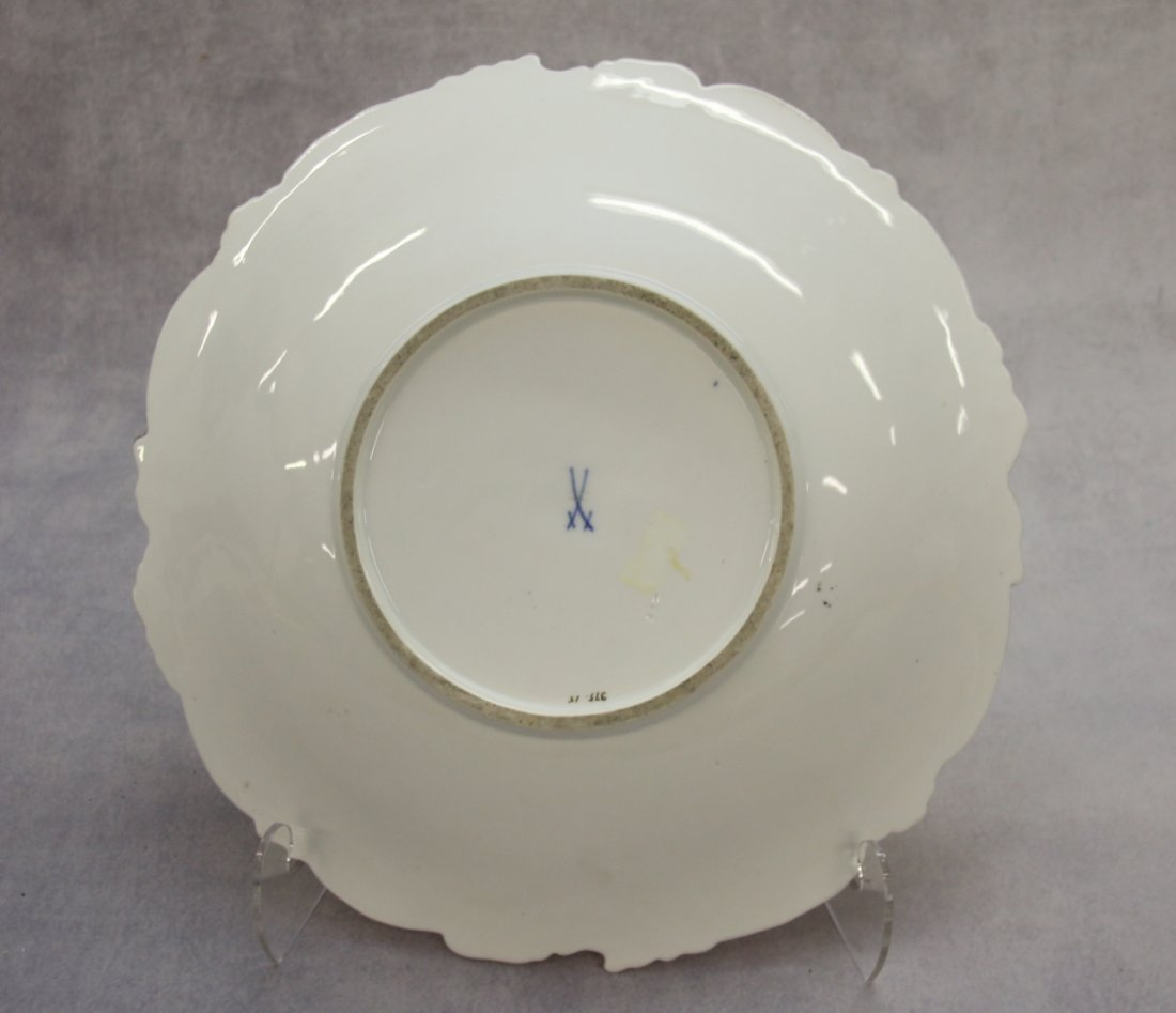 MEISSEN PORCELAIN SERVING BOWL - 2