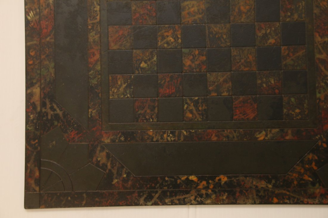 MARBLEIZED SLATE GAME BOARD - 2