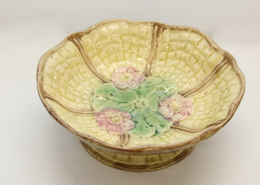 GROUP LOT OF MAJOLICA - 2