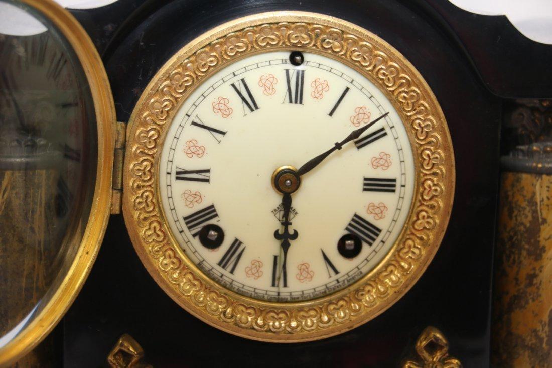 ANSONIA MANTLE CLOCK - 3