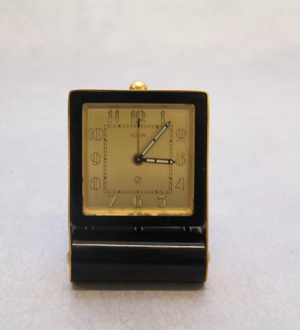 LE COULTRE SWISS TRAVEL CLOCK - 2