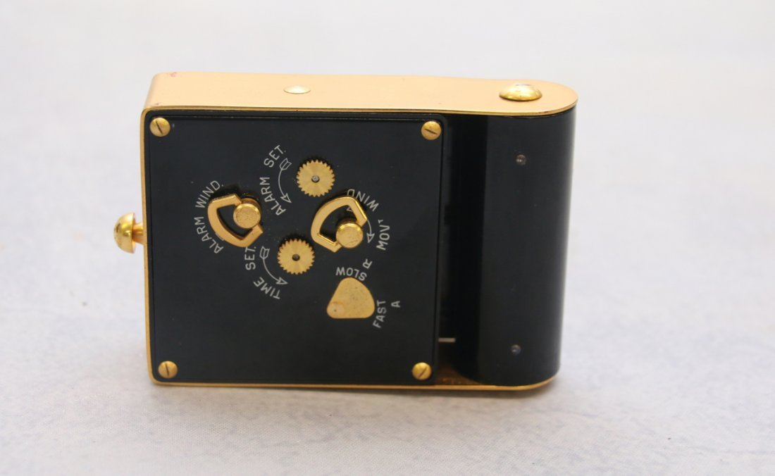LE COULTRE SWISS TRAVEL CLOCK - 4